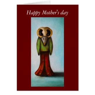 El día de la madre Mamá-Feliz de Arnie Tarjetón