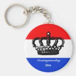 El día de la reina holandesa (Koninginnedag) Llaveros Personalizados