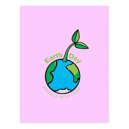 El Día de la Tierra dirige con cuidado Postal