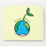 El Día de la Tierra dirige con cuidado Tapete De Ratón
