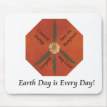 El Día de la Tierra es cada día Tapetes De Ratón