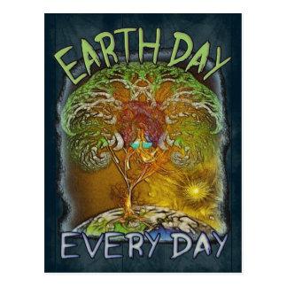 El Día de la Tierra es cada día Postal