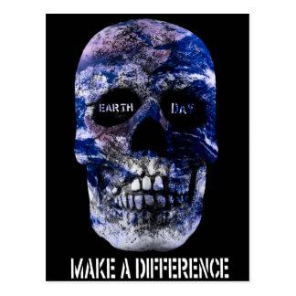 El Día de la Tierra hace una postal del cráneo de