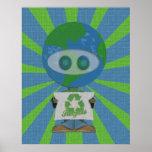 El Día de la Tierra recicla arte del poster