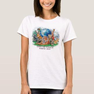El Día de la Tierra vive en camiseta del animal de