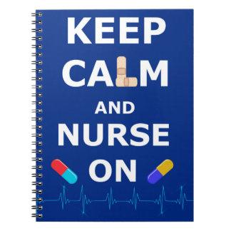 El día de las enfermeras guarda el cuaderno