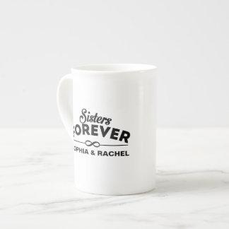 El día de las hermanas de encargo taza de té