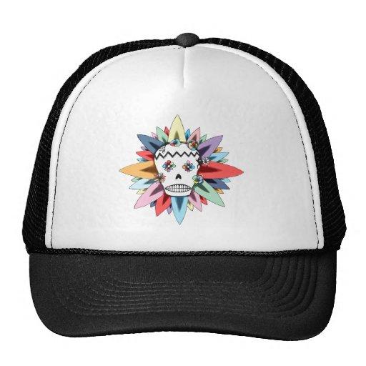 El día de los colores muertos gorra