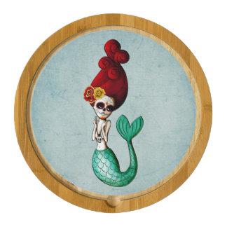 El Dia de Los Muertos Mermaid Catrina