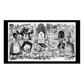 El día de los muertos, México. Circa 1900's tempra Tarjeta De Visita