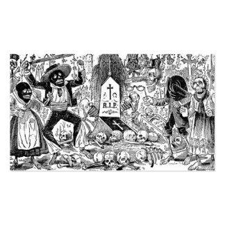 El día de los muertos, México. Circa 1900's tempra Tarjetas De Visita