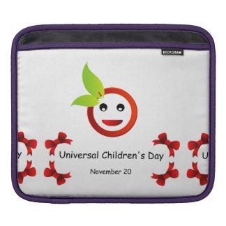 El día de los niños universales 20 de noviembre fundas para iPads