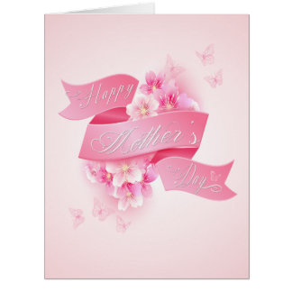 """El día de madre - arte de la palabra """"del día de tarjeta de felicitación grande"""