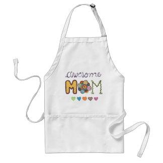 El día de madre caprichoso de los Doodles de la Delantal
