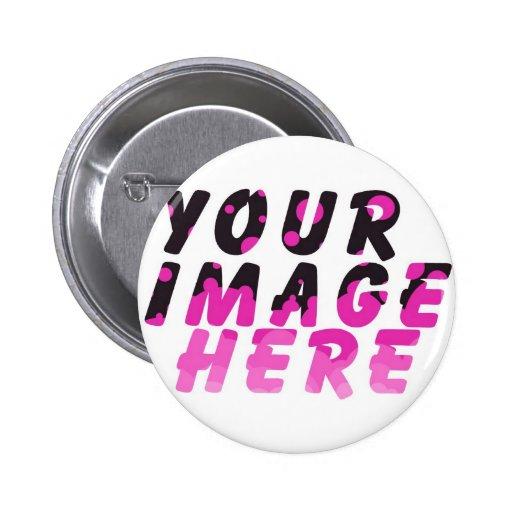 El DÍA de MADRE crea su propio fabuloso Pin Redondo 5 Cm