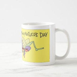 El día de madre de la araña taza de café