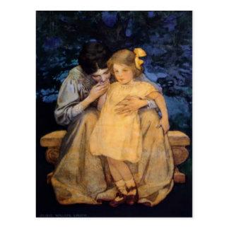 El día de madre de la madre y del niño de Jessie Tarjeta Postal