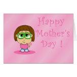 El día de madre de Lil Mabel Tarjetas