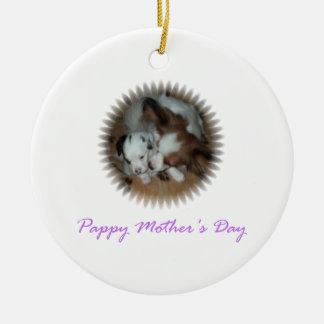 El día de madre de Pappy Ornamente De Reyes