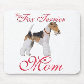 El día de madre del fox terrier del alambre tapete de raton