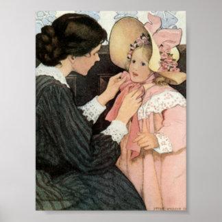 El día de madre del niño de la madre de Jessie Wil Póster