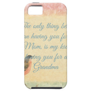 El día de madre del petirrojo del vintage iPhone 5 coberturas