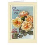 El día de madre del vintage tarjeta