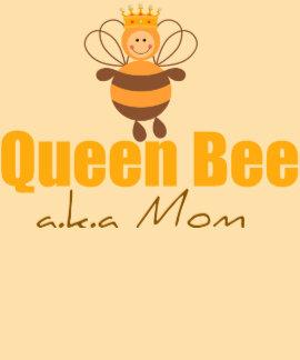 El día de madre divertido de la abeja reina tee shirts