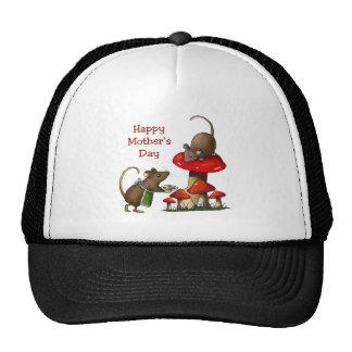 El día de madre: Dos ratones y Toadstool: Galletas Gorros