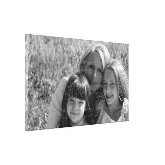 El día de madre envuelta foto de encargo de la lon impresion de lienzo