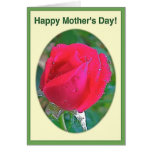 El día de madre feliz 1 tarjeta de felicitación