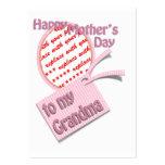 El día de madre feliz al marco de la foto de la ab tarjetas de visita