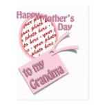 El día de madre feliz al marco de la foto de la ab postal