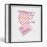 El día de madre feliz al marco de la foto de la ma