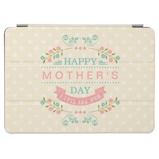 El día de madre feliz - cinta elegante elegante cubierta de iPad air