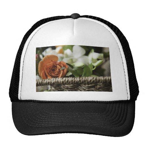 El día de madre feliz - color de rosa anaranjado gorras