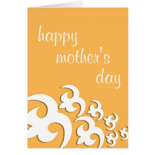 el día de madre feliz del adinkra felicitación