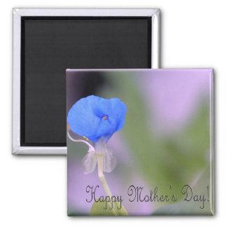 ¡El día de madre feliz del iris del agua! Imanes