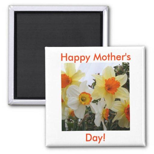 ¡El día de madre feliz! Imán Cuadrado
