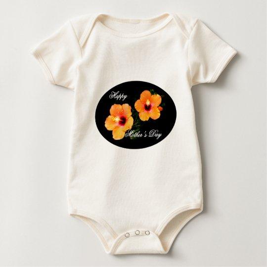 El día de madre feliz IMG_0470 oval Body Para Bebé