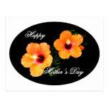 El día de madre feliz IMG_0470 oval Postal