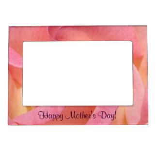 ¡El día de madre feliz! la foto enmarca la flor co Marcos Magneticos