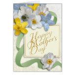 El día de madre feliz - oro, almendra, sabio