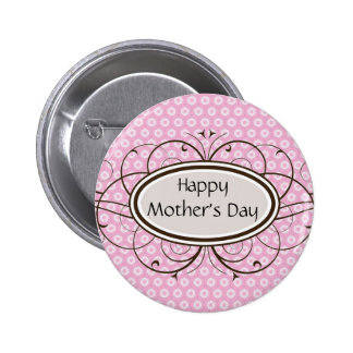 El día de madre feliz pin redondo 5 cm