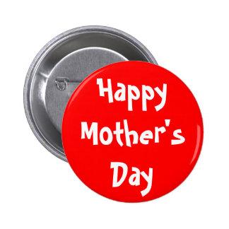 El día de madre feliz pins