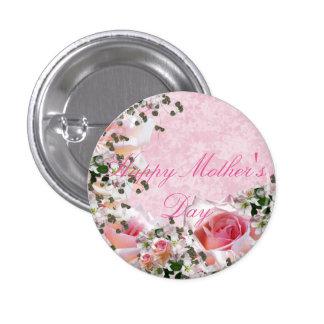 El día de madre feliz pin redondo 2,5 cm