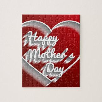 el día de madre feliz puzzle