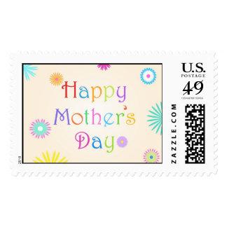 El día de madre feliz - sello