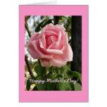 """El """"día de madre feliz subió """" tarjetas"""