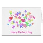 el día de madre feliz tarjetas